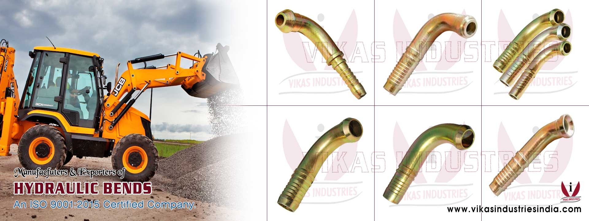 Hydraulic Bends manufacturers suppliers exporters distributors dealers from India punjab ludhiana