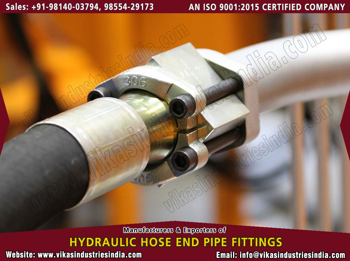 Hydraulic hose Equipments manufacturers suppliers exporters distributors dealers from India punjab ludhiana